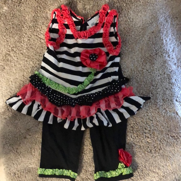 Rare Editions Other - RARE EDITIONS 2 pc adorbs outfit size 24mths❤️✔️💯